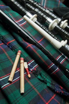 cornamusa scozzese, great highland bagpipe, bagpipes